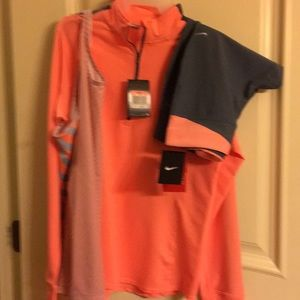 Nike Other - Nike dri-fit Jacket, tank, and capris